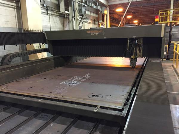 Cincinnati laser cutter